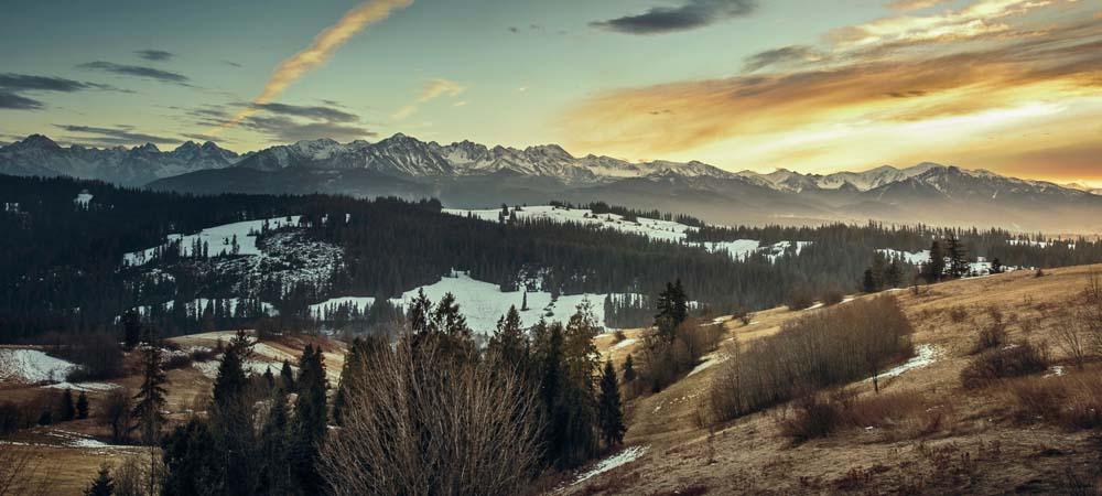 Canyon im Winter