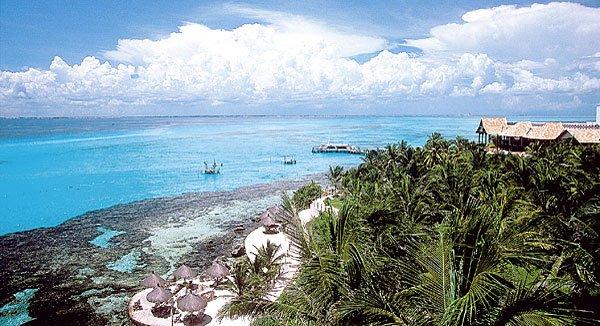 Mit dem Boot sind die Tauchgründe auf Isla Mujeres schnell zu erreichen! (Bild: Mexikanisches Fremdenverkehrsbüro)