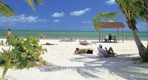 """Key West lockt mit weißen Traumstränden. Abwechselung für Wassersportler bietet der Wasserpark """"Keys Cable"""""""