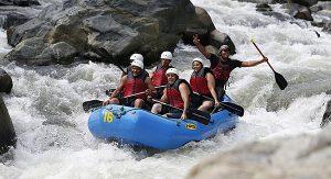 Aktiv in der Dom Rep: Der Río Jimenoa, ein Nebenfluss des längsten Flusses in der Karibik, bietet sich für Canyoning an