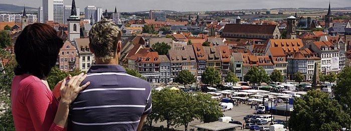 Thüringen: Erfurt entdecken mit einem Stadtbummeld durch die Altstadt