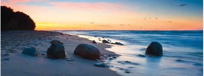 Traumhafte Kulisse: Die polnische Ostseeküste