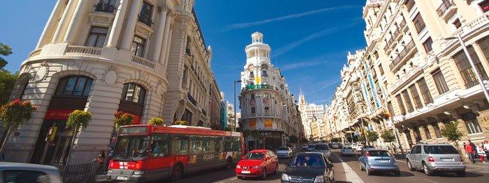Streifzug durch Madrid mit Bus und Bahn