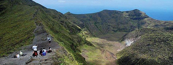 Soufrière-Vulkan