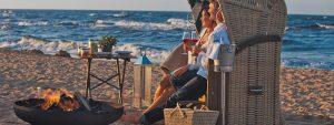 Auszeit vom Alltag: Am Strand von Usedom
