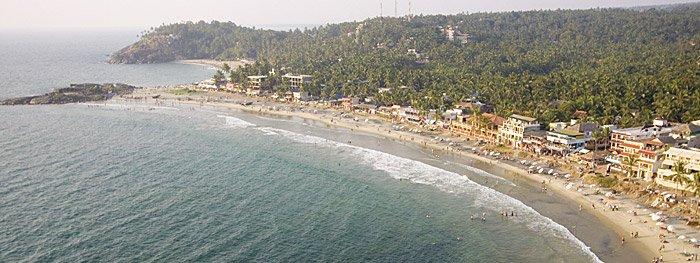 Kerala/Indien: Jeden Tag ein anderer Strand