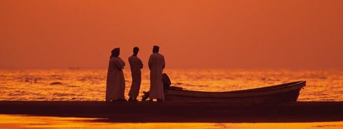 Sonnenuntergang in Oman
