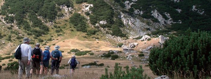 Montenegro – Grüne Wälder – schwarze Berge