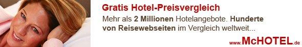 Hotel-Preisvergleich mchotel.de