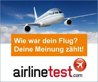 airlinetest.com – das große Flug-Bewertungsportal für Passagiere