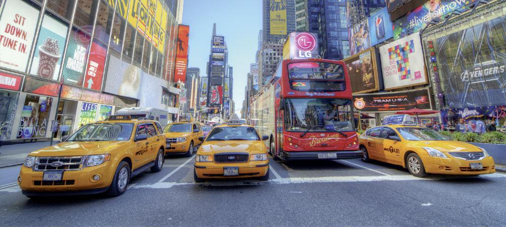 Reges Treiben in New York City