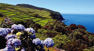 Auf den neun Azoreninseln zum Beispiel auf Terceira finden Reisende eine einzigartige Naturlandschaft