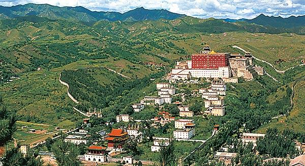 Reise in die Bergwelt Chinas