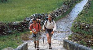 Pilgern auf dem Jakobsweg bis hin nach Santiago de Compostela