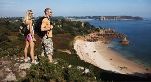 Jersey bietet Naturbegeisterten über 40 Wandertouren