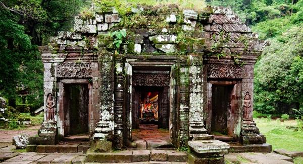 Laos - Tempel Wat Phou