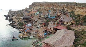 Filmkulisse: Das Popeye-Dorf im Nordwesten Maltas ist heute ein Erlebnispark