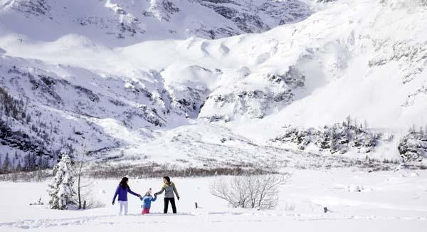 Winterwandern Kolm Saigurn