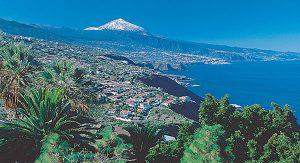 Teneriffa: Blick auf das Orotava-Tal und den Teide