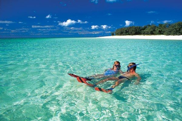 Australien Insel Schnorchel