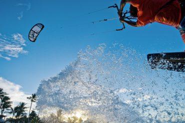 Cabarete gilt als Hot Spot für Kite Surfer an der Nordküste der Dominikanischen Republik