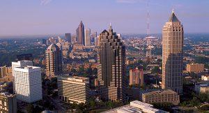 """Atlanta, die Hauptstadt Georgias, wird gerne als das """"Tor zum Süden"""" bezeichnet"""