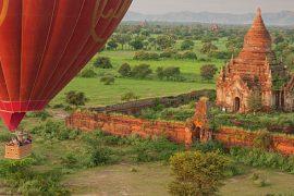 Myanmar Ballonfahrt
