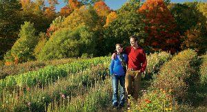 Indian Summer: beeindruckendes Farbenspiel im Herbst. In einigen Orten verfärben sich die Blätter erst im Oktober