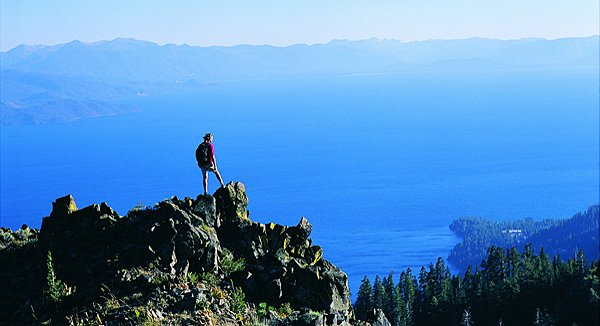Eldorado für Wanderfreunde: Der Lake Tahoe ist die zentrale Region des Indianerstammes der Washoe