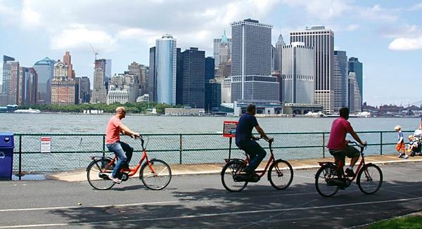 Insider Tipp: New York per Fahrrad entdecken