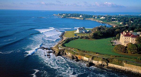 Rhode Island: Die Küste rund um Newport können Neuengland-Urlauber gut per Fahrrad erkunden