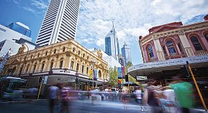 Perth City Australien
