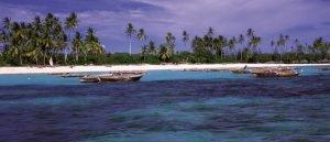 Sansibar Strand-Panorama