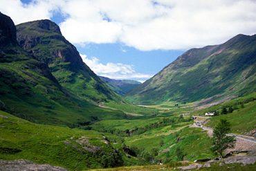 Einzigartige Gebirgslandschaften in Aberdeens Umgebung
