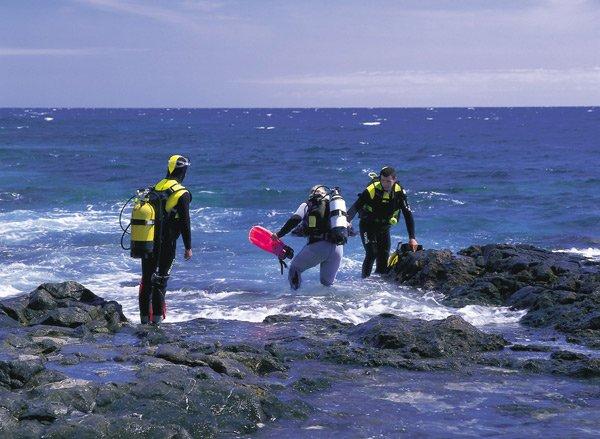 Vor der Kanarischen Insel El Hierro gibt es ein spannendes Tauchrevier