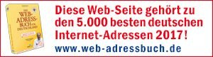 Auszeichnungsbanner Webadressbuch