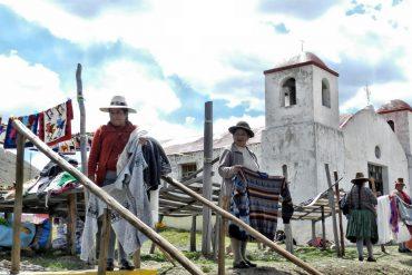 Peru: Marktfrauen & strickende Männer