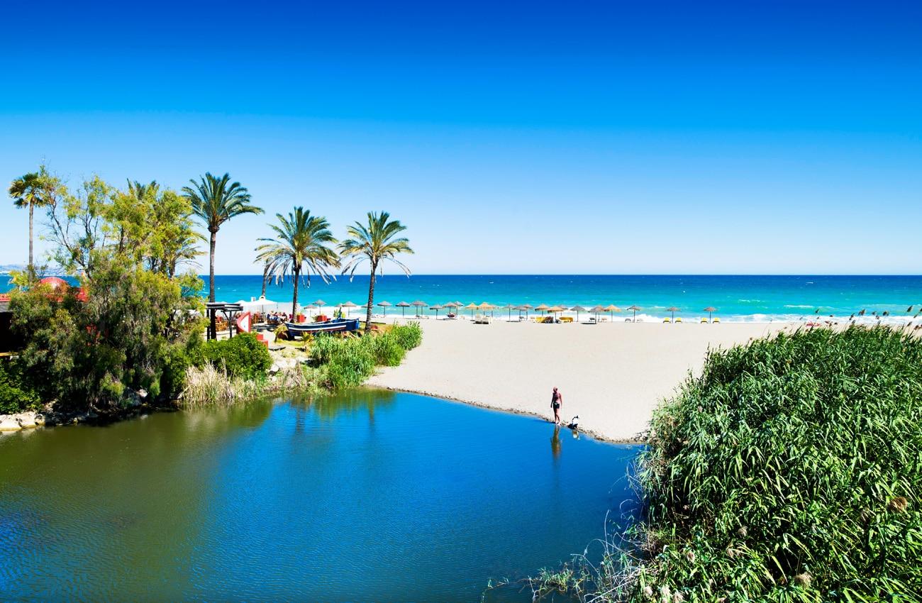 Auch der Strand von Marbella gehört mit zu den Favoriten.