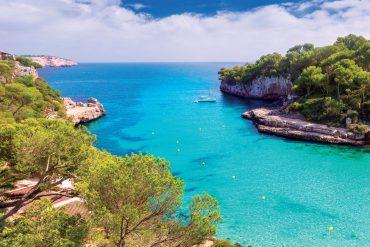 Die Aussicht genießen auf der vielseitigen Baleareninsel Mallorca