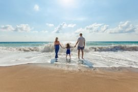 Familienspaß am Strand