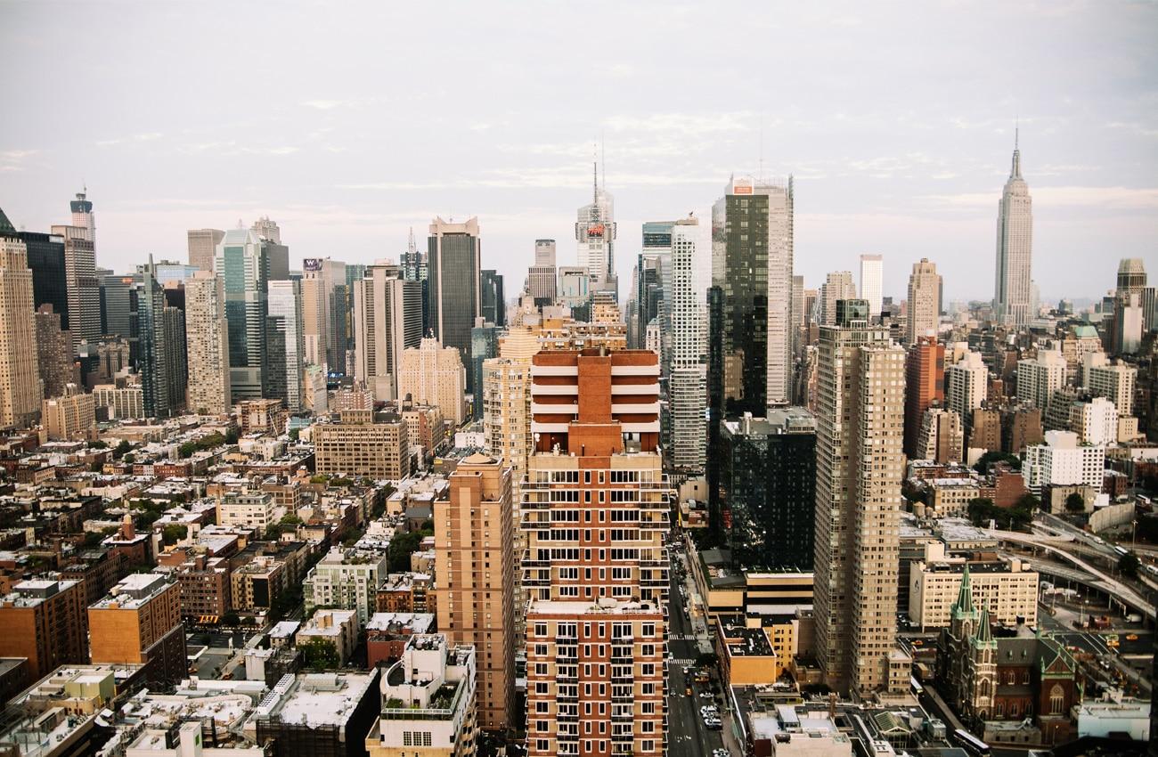 Die Skyline von New York - ein Erlebnis