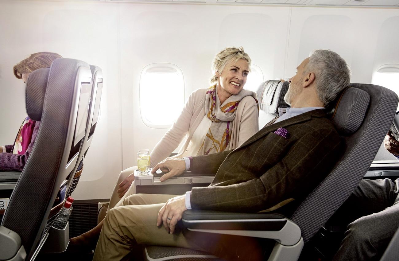 Sparen beim Flug. Satter Rabatt für Pfiffige