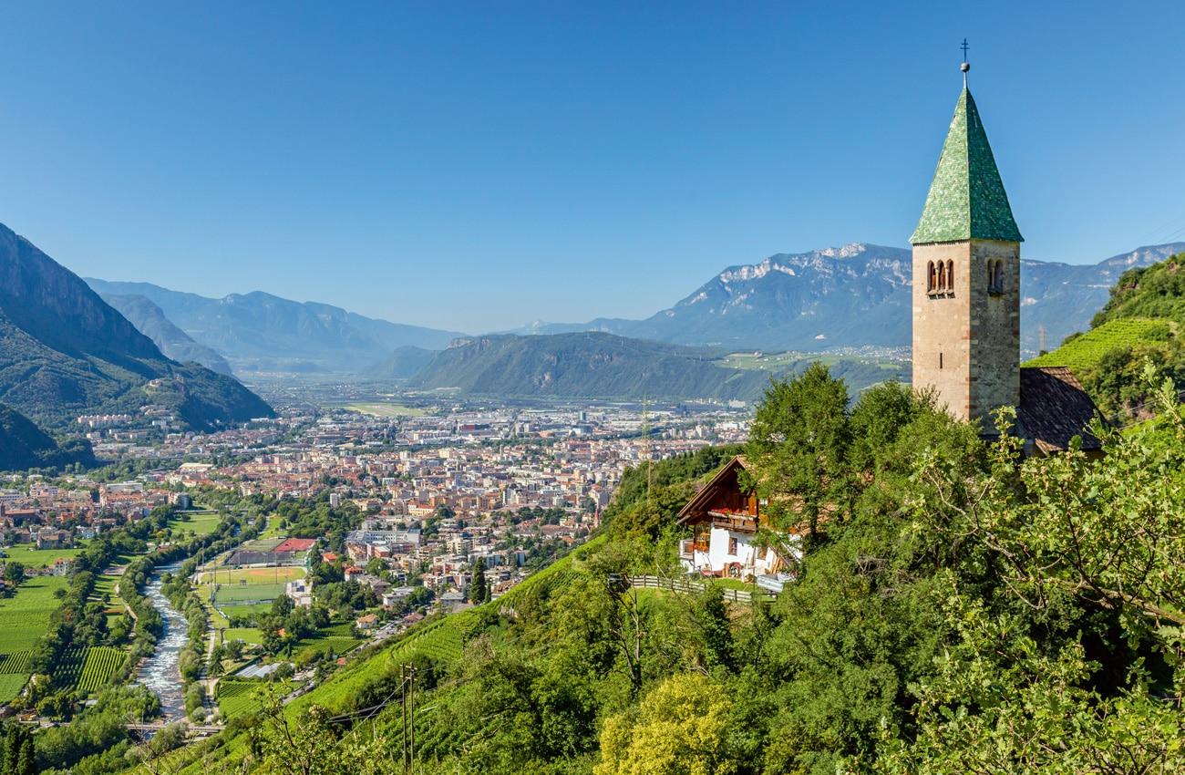 Alpenromantik: Bozen ist ganzjährig eine Reise wert.