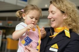 Kinderbetreuung bei der Lufthansa