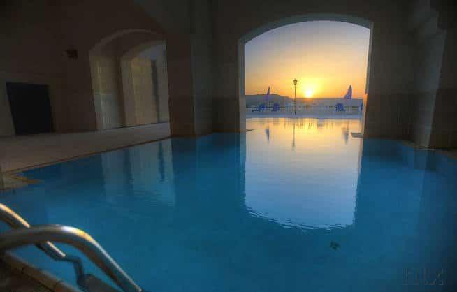 Cornucopia - Gozo - Sonnenaufgang am Pool