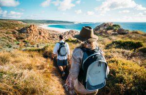An der Küste Australiens wandern