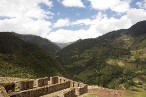 Vitcos - eine archäologische Ruin der Inkas.