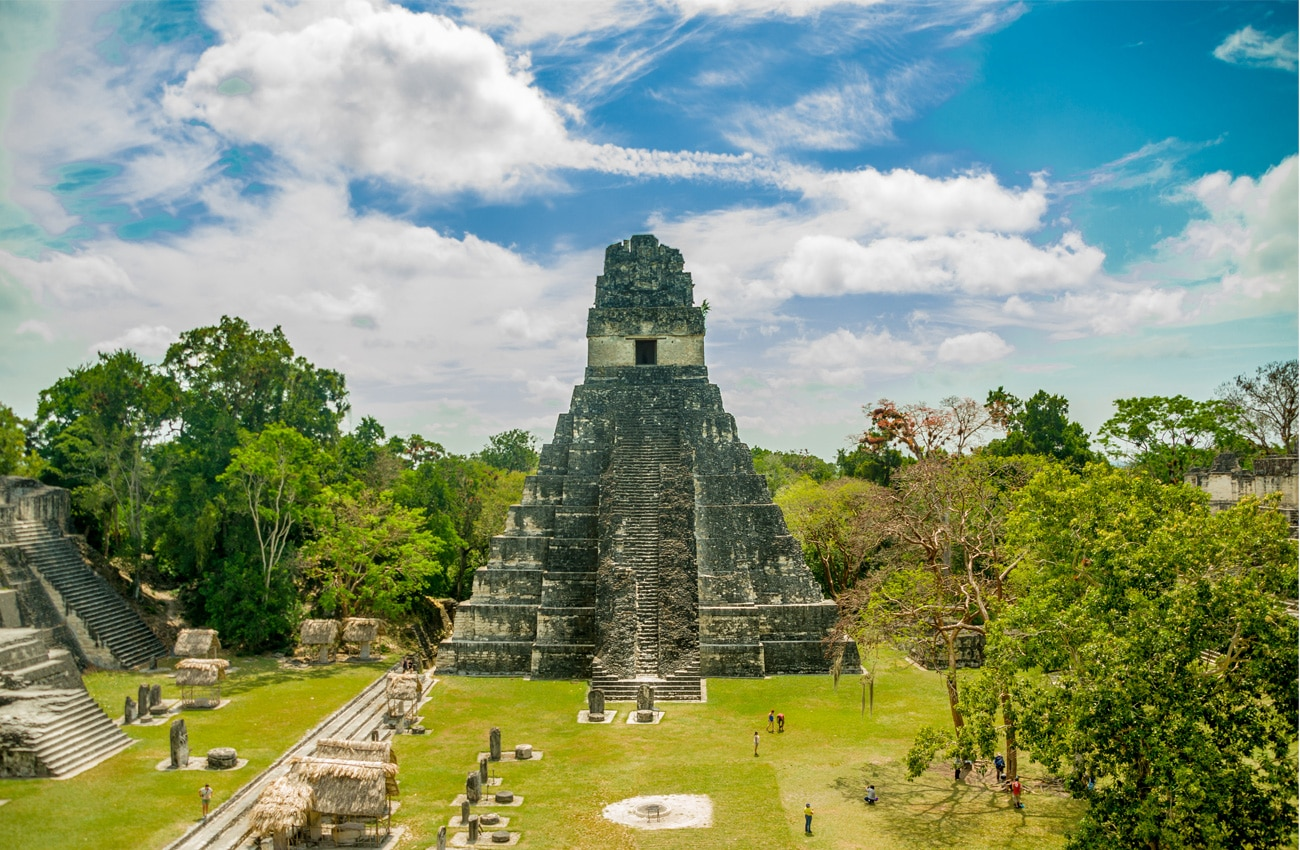 Tikal - Ruinen der Maya in Guatemala