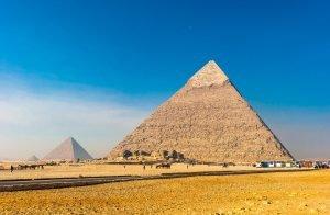 Pyramiden sind eine einmalige Sehenswürdigkeit