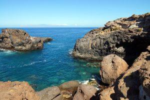 Einsame Bucht auf Teneriffa